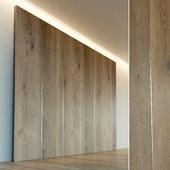Wall panel made of wood. Decorative wall. 51