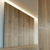 Wall panel made of wood. Decorative wall. 55
