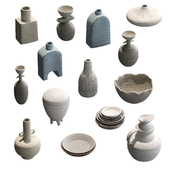 Pottery set v2