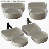 Bathroom collections : Artisan above counter basin