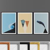 Picture frame set 00019-10