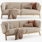 STANLEY Wide 2 Seat Sofa