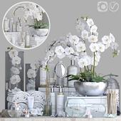 Decorative set for the bathroom