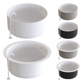 Agape In-Out Bathtubs 01