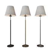 Floor lamp Hotel 01008/1 black / antique bronze / chrome