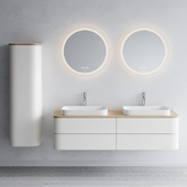 Duravit HAPPY D.2 PLUS | Double vanity unit
