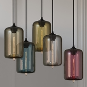 Pod Pendant Lamp Designed by Jeremy Pyles for Niche 5 Colors