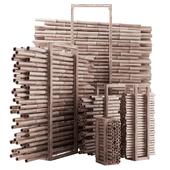 Firewood bamboo / Дрова и  бамбука