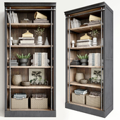 Стеллаж Pottery Barn Gavin Reclaimed Wood Bookcase