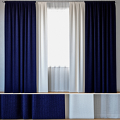 Curtains 99   Curtains with Tulle   ROHI   Credo