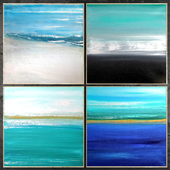 Paintings abstract   set 453