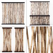 Bamboo decor wall cafe / Bamboo decor wall cafe
