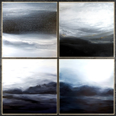 Paintings abstract | set 454