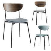 West Elm modern petal chair