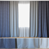 Curtains 18   Curtains with Tulle   ROHI   Credo