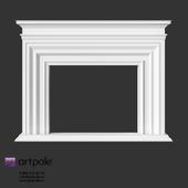 OM Plaster decorative fireplace from Artpole