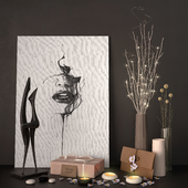 Decor - Luminous branches set