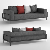 Talenti Cleo Alu Three-Seater Sofa / Трехместный диван