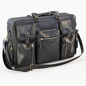 Days art dulles leather bag