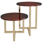 TWINS Square coffee table By Marelli