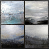 Paintings abstract | set 455