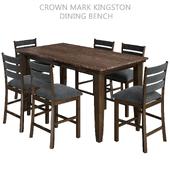 Crown Mark Kingston Dining Bench