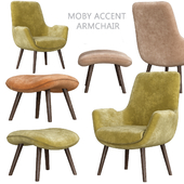 Moby accent armchair