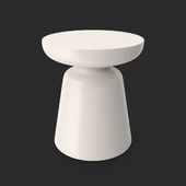 Martini Side Table White