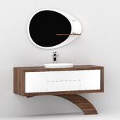 Bathtub cabinet Contempora Gaia Mobili