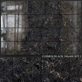 Yurtbay Seramik Cosmos Black 300x600 Set 3
