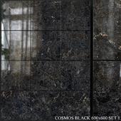 Yurtbay Seramik Cosmos Black 600x600 Set 1