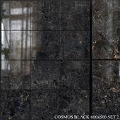 Yurtbay Seramik Cosmos Black 600x600 Set 2