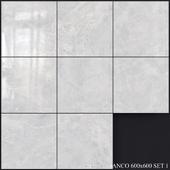 Yurtbay Seramik Alpha Bianco 600x600 Set 1