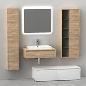 Furniture for bathrooms Trevi from Falegnameria Adriatica
