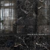 Yurtbay Seramik Java Black 300x600 Set 2