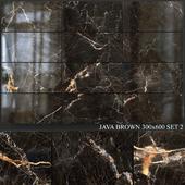 Yurtbay Seramik Java Brown 300x600 Set 2
