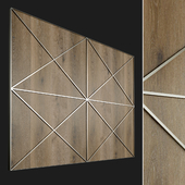 Wall panel made of wood. Decorative wall. 62