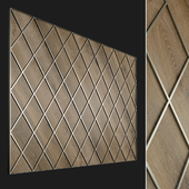 Wall panel made of wood. Decorative wall. 64