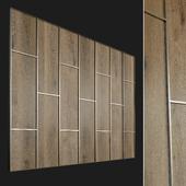 Wall panel made of wood. Decorative wall. 72