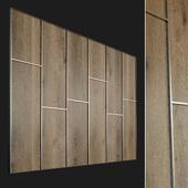 Wall panel made of wood. Decorative wall. 73