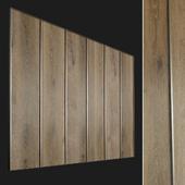 Wall panel made of wood. Decorative wall. 74