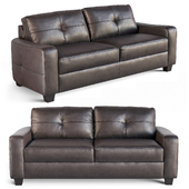 Coaster Jasmine Bonded Leather Loveseat