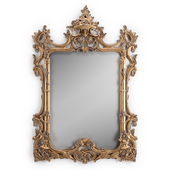 Chippendale style mirror