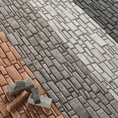 Paving brick bevel