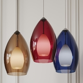 Fire pendant by tech lighting