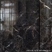 Yurtbay Seramik Java Black 600x600 Set 1
