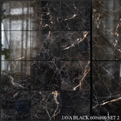 Yurtbay Seramik Java Black 600x600 Set 2