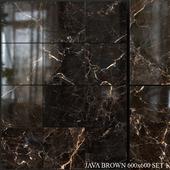 Yurtbay Seramik Java Brown 600x600 Set 1