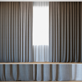 Curtains 42 | Curtains with Tulle | Rohi | Novum