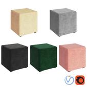 Box Ottoman Colors